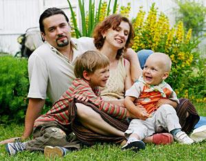 Семья - плот в нашей жизни