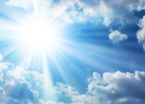 Осторожней с солнцем.