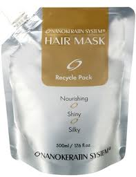 Маска «Hair Gold».Нанокератиновый эффект.