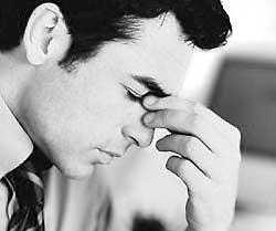 Самый распространенный тип головной боли.