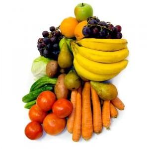 Влияние фруктов и овощей.