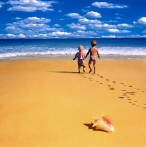 Отдых на море пойдет на пользу коже лица.