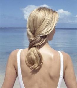 Скорая помощь выгоревшим волосам