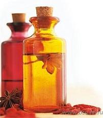 Использование аромамасел для лечения.