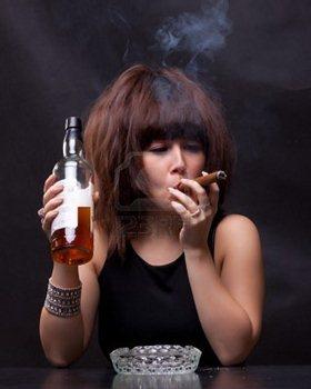 Действие сигарет, никотина