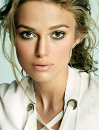 Кира Найтли презентовала новый макияж