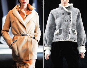 Модные дубленки сезона зима 2012-2013