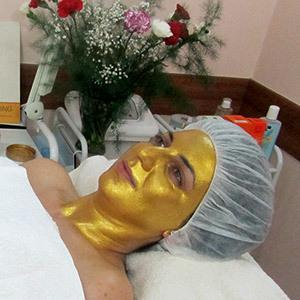 Красота без ... старости с золотой маской