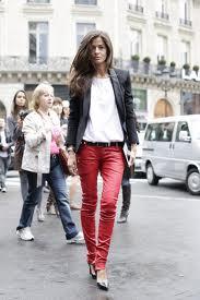 Красные джинсы для класного человека